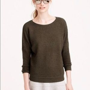 J.Crew Ribbed Wool Sweater